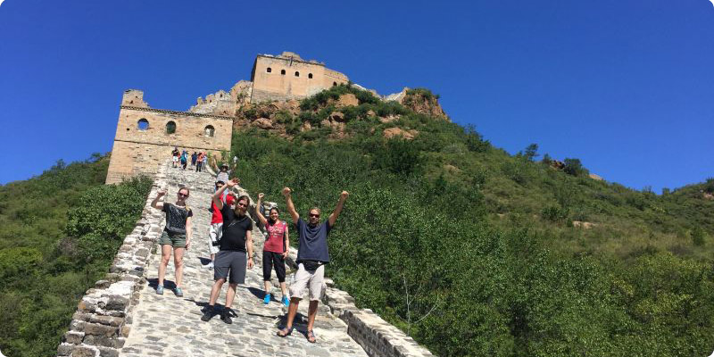 Conquer the Great wall at Jiankou
