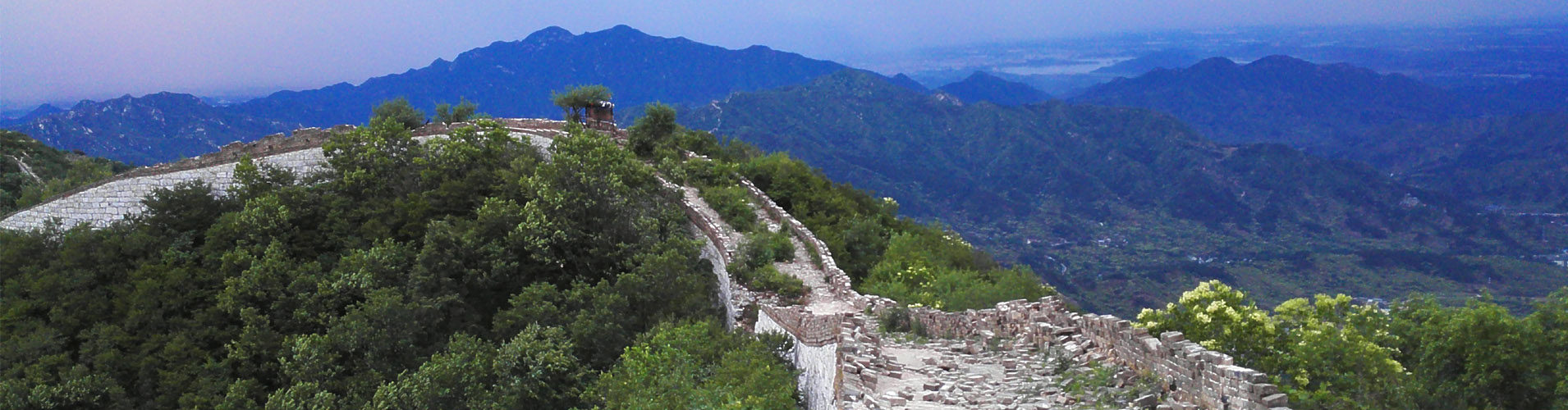 Jiankou Great wall hike